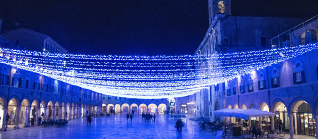 LUCE DI NATALE DI ASCOLI PICENO – The Christmas Lights of Ascoli Piceno 2019